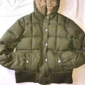 hollister warm coat